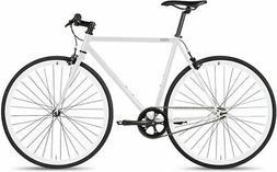 6KU Urban Track Bike 55cm Polar White