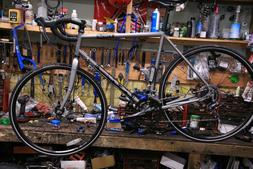 KHS Urban XTreme Steel Gravel Road Bike Complete Shimano 2x8