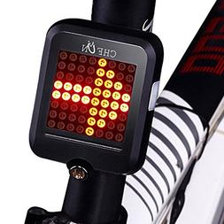 CHFUN USB Rechargeable Bike Tail Light,80 Lumens 64 LED Ligh