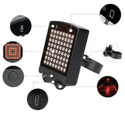 USB Rechargeable Bike Tail Light Smart Bicycle Turn Signal L