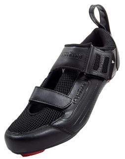 tommaso Veloce 100 Triathlon Road Cycling Shoe - Black - 46