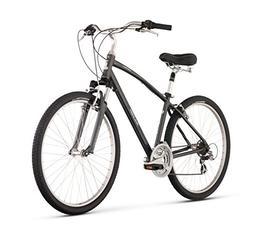 "Raleigh Bikes Venture 3.0 Comfort Bike Silver 19"" / Large"