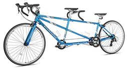 "Giordano Viaggio Tandem Road Bike, Blue, 20""/One Size"