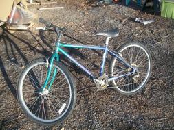 vintage switchback mountain bike size 14 shimano