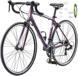 Schwinn Volare 1400 Road 700C Wheel Bicycle, Matte Ple, 48 C