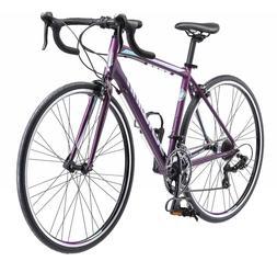 Volare 1400 Road 700C Wheel Bicycle, Matte Purple, 48 cm/One