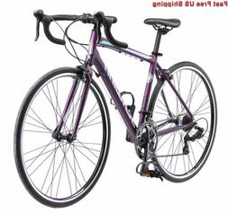Schwinn Volare 1400 Road 700C Wheel Bicycle, Matte Purple, 4