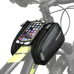 ArcEnCiel Bike Frame Bag Bicycle Top Tube Pouch Waterproof C