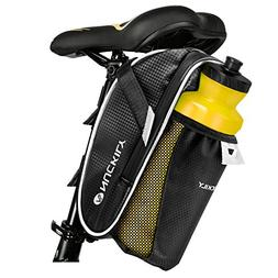 LingsFire Waterproof Bike Bicycle Saddle Bag, Bicycle Cyclin