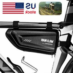 Waterproof Cycling Bicycle Bag Front Triangle Frame Top Tube