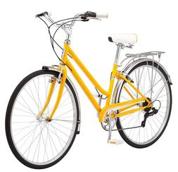 "Schwinn Wayfarer Hybrid 700C Wheel Bicycle, Mango, 16""/Small"