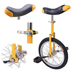 16 inch Wheel Professional Unicycle Cycling Sport Training B