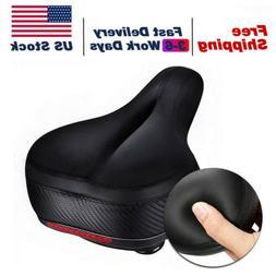 Wide Big Bum Bike Bicycle Extra Comfort Silicone Soft Pad Cu