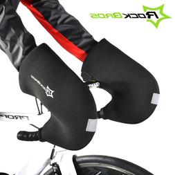 RockBros Winter Cycling Gloves Road Bike Bar Handlebar Warm
