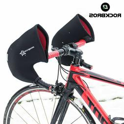 winter road bike cycling gloves handlebar mittens