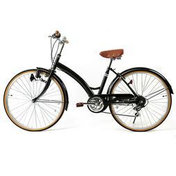 """Women's Cruiser Bike 26"""" Road Bike City Bicycle Comfort Ride"""