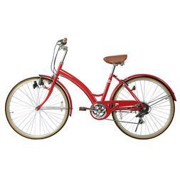"""Women's Cruiser Bike 26"""" City Bicycle Road Bike Comfort Ride"""