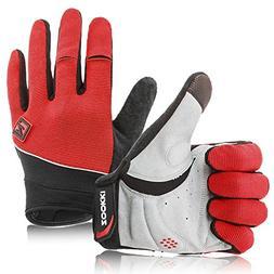 Zookki Work Gloves,Full finger-Red,XXL