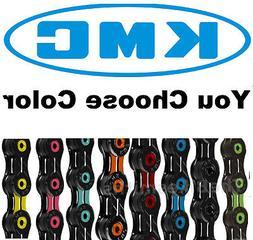 KMC X11SL DLC ASSORTD COLORS 11 Speed Road CX Bike Chain fit