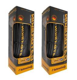 X2 Continental Gatorskin 700x23mm Folding Clincher Tires Bla