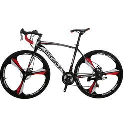 Cyrusher XC550 Racing Road Bike 700Cx28C Steel Frame 21 Spee