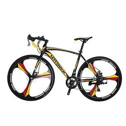 VTSP XC550 Road Bicycle 700Cx28C Steel Hard Frame 21 Speeds