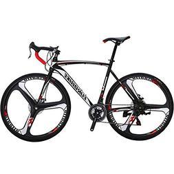 VTSP Road Bicycle 21 Speeds Road Bike XC550 700Cx28C Steel H