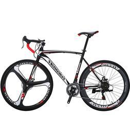 XC550 Road Bike 21 Speed Racing Bicyle Mens bikes Disc Brake