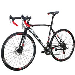 54CM Road Bike 700C Wheels Mens Shimano 21 Speed Disc Brake