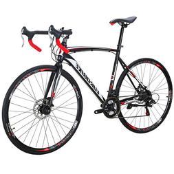 XC550 Road Bike 700C Wheels Shimano 21 Speed Disc Brakes Fra