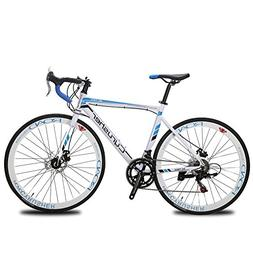 Cyrusher XC760 Races Road Bike 52cm Aluminium Frame 14 Speed