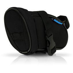 iGadgitz Xtra Black Water Resistant Wedge Style Bike Saddle