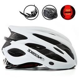 KINGBIKE Adult Bike Helmet Ultralight Bicycle Helmets Rain C