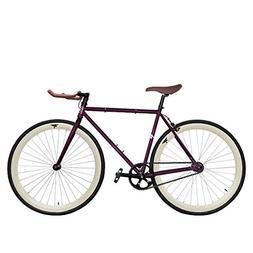 Zycle Fix ZF-ROBN-52 Robin Fixed Gear Bike, 52cm/One Size Fr